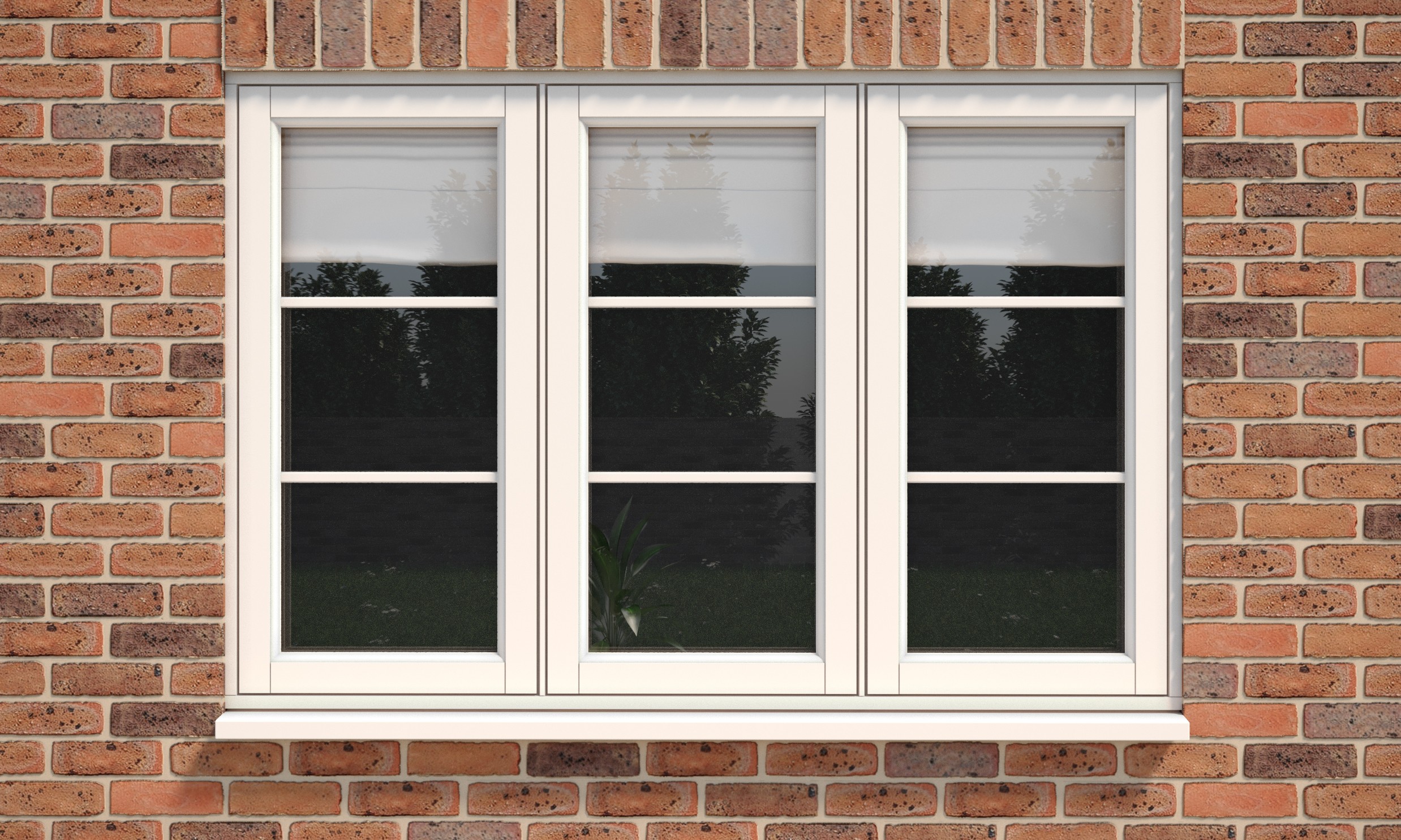 liniar casement window