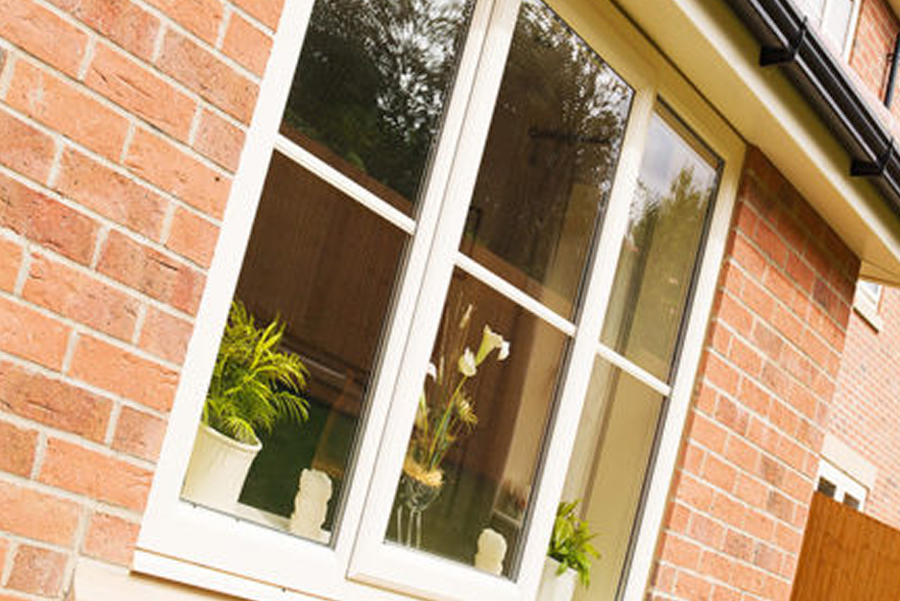 an image showing that we install double glazed windows